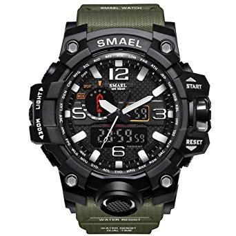 SMAEL Analog Digital Sport Watch